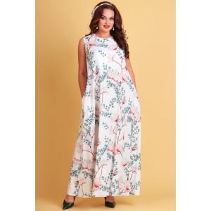 TEFFI 1390-1 Платье (магнолии)