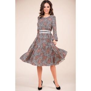 TEFFI 1393 Платье (коричневый)