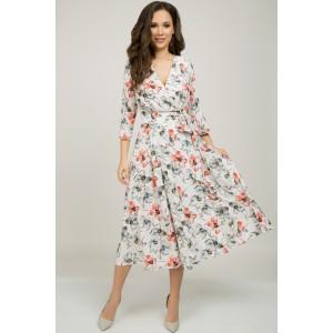 TEFFI 1396 Платье (лосось)