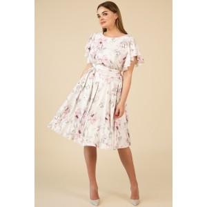 TEFFI 1403 Платье (розовые лилии)