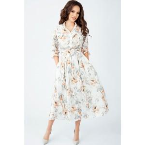 TEFFI 1408 Платье (охра)