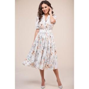 TEFFI 1411 Платье (охра)
