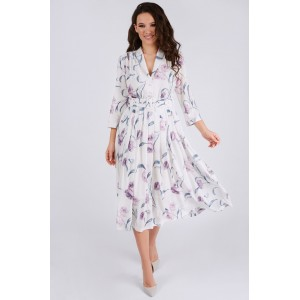 TEFFI 1425 Платье (лавандовые розы)