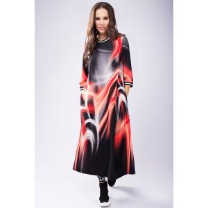 TEFFI 1432 Платье (красные разводы)