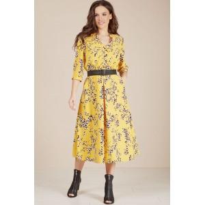 TEFFI 1486 Платье (лимонный)