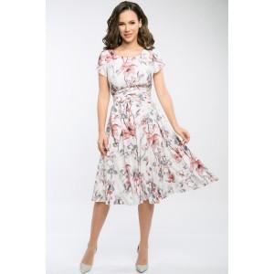TEFFI 721/2 Платье (амарантовый)