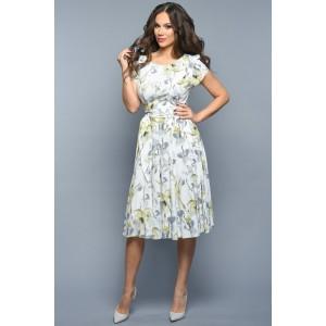 TEFFI 721/2 Платье (лайм)