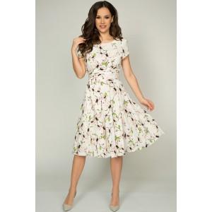 TEFFI 721/2 Платье (зеленый лист)