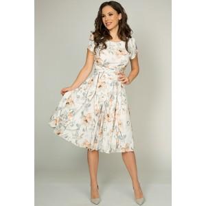 TEFFI 721/2 Платье (охра)