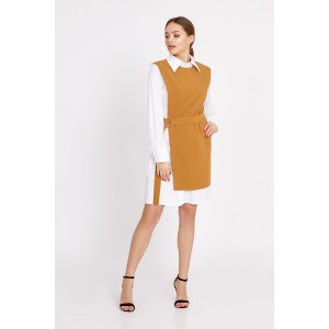 TEMPER 189 Платье с жилетом