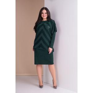 TENSI 259 Платье с туникой