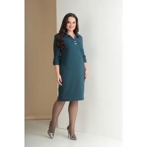 TENSI 262 Платье (бирюза)