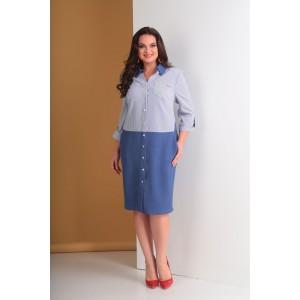 TENSI 266 Платье-рубашка