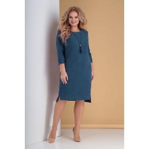 TENSI 298 Платье (темно-лазурный)