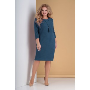 TENSI 299 Платье (тёмно-лазурный)