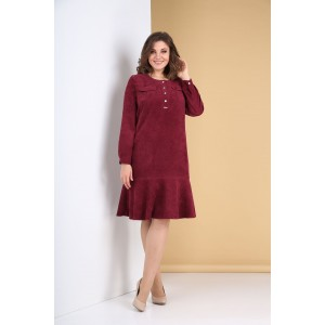 TENSI 319 Платье (марсала)