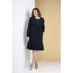 TENSI 319 Платье (темно-синий)