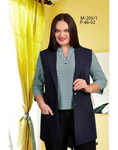 TENSI 205-1 Блуза с жилетом