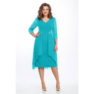 TEZA 121 Платье (голубой)