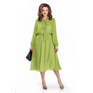TEZA 144 Платье (салатовый)
