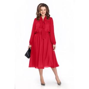 TEZA 144 Платье (красный)