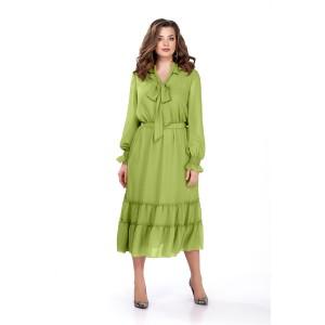 TEZA 157 Платье (салатовый)