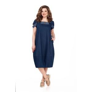 TEZA 175 Платье (темно-синий)