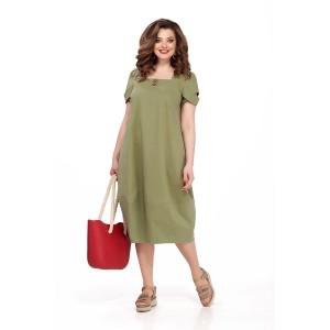TEZA 175 Платье (хаки)