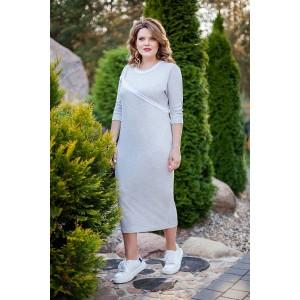 TEZA 178 Платье (серебристый)