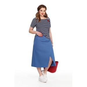 TEZA 192 Комплект юбочный (синий)