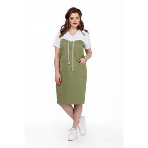 TEZA 193 Платье (хаки)