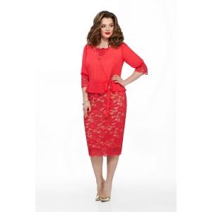 TEZA 194 Платье (красный)