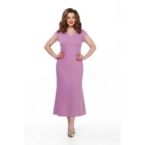 TEZA 197 Платье (сиреневый)