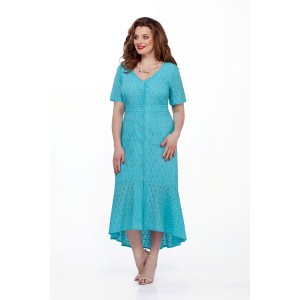 TEZA 203 Платье (бирюза)