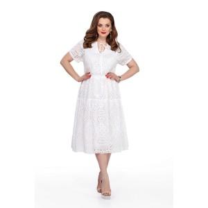 TEZA 207 Платье (белый)