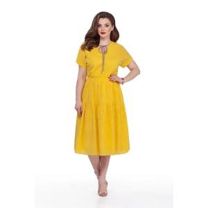 TEZA 207 Платье (желтый)