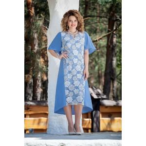 TEZA 211 Платье (голубой)