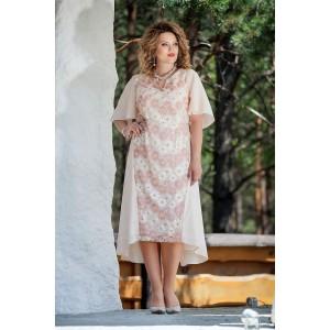 TEZA 211 Платье (бежевые-тона)