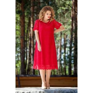 TEZA 216 Платье (красный)
