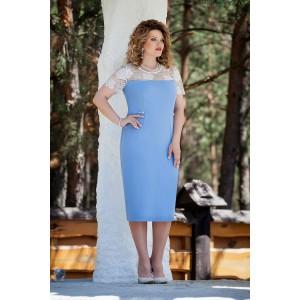 TEZA 221 Платье (голубой)