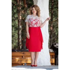 TEZA 222 Платье (красный)