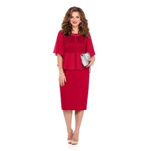 TEZA 232 Платье (красный)