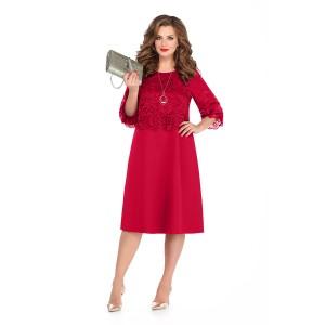 TEZA 239 Платье (красный)