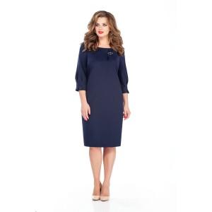 TEZA 243 Платье (темно-синий)
