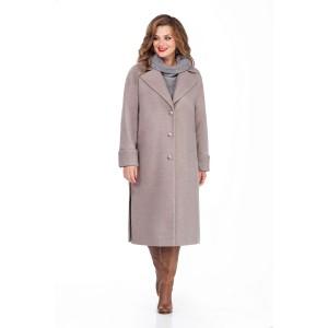 TEZA 246 Пальто (темно-серый)
