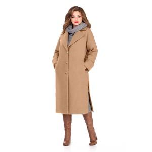 TEZA 246 Пальто (бежевый)