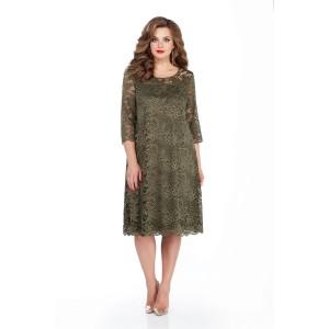 TEZA 249 Платье (хаки)