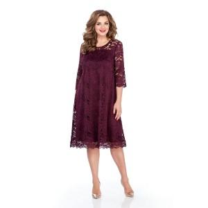 TEZA 249 Платье (фиолетовый)