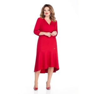 TEZA 254 Платье (красный)
