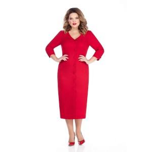 TEZA 255 Платье (красный)